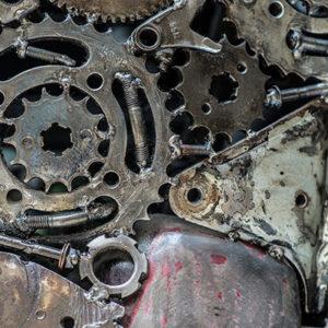 ECO MOTO Απόσυρση και Ανακύκλωση μοτοσυκλετών μέταλα